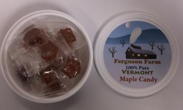 Hard Maple Candy Drops - Tub of 15 Pieces