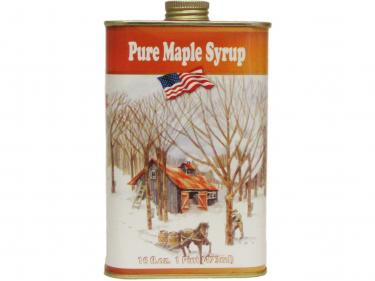 Classic Tin Pint - 100% Pure Vermont Maple Syrup