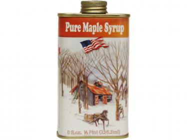 Classic Tin Half Pint - 100% Pure Vermont Maple Syrup